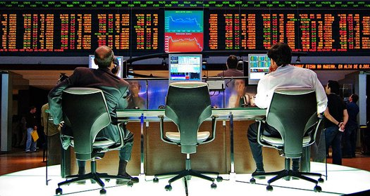 File-Sao Paulo Stock Exchange