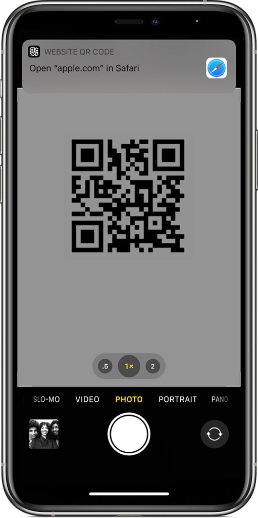 How to Scan a QR code with your iPhone, iPad, or iPod touch?