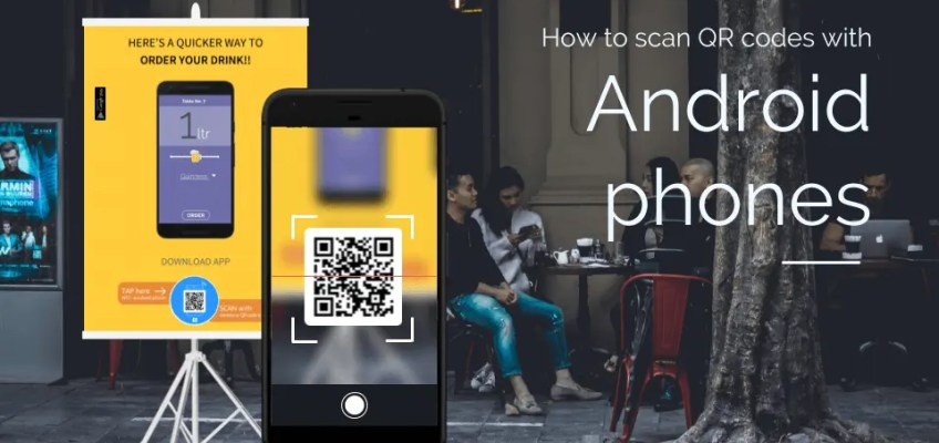 How to Scan a QR Code on an Android Phones