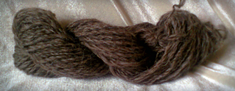 It's a 2 ply and it looks roughly like yarn!