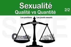 Suite de la comparaison entre quantité et qualité – 2nd partie