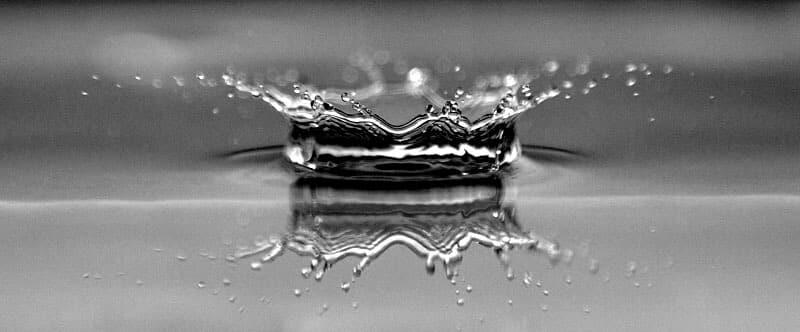 éclat d'eau - goutte