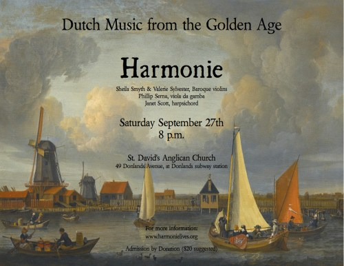 Harmonie - Dutch Music from the Golden Age: Secret Treasures