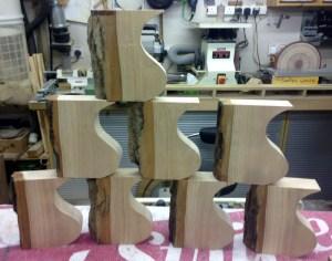 Ash blocks cut to shape 1496x1178