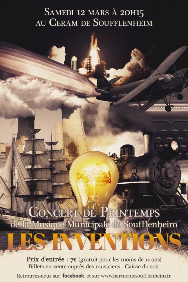 Affiche Concert de Printemps 2016