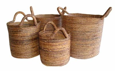 Steps to Make a Basket of Water Hyacinth