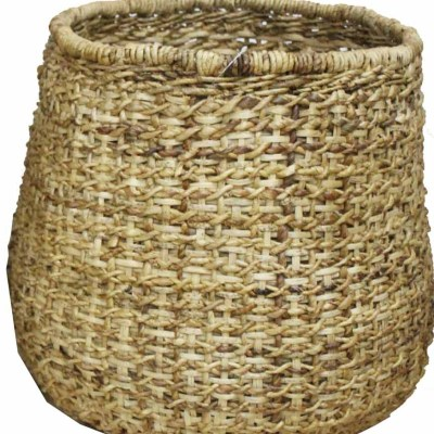 HOB2039 M Set 2 Banana bambu basket in natural