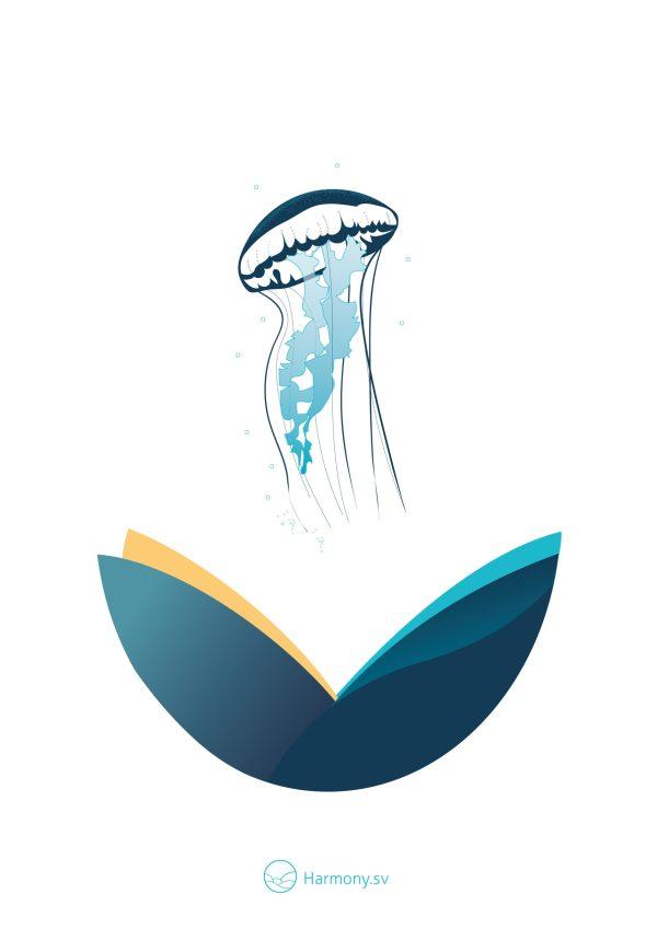 La méduse - Illustration,