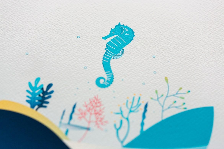 Illustration Hippocampe