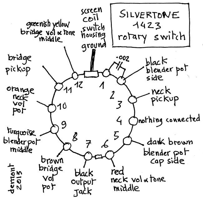 Silvertone Wiring Diagram Silvertone Wirning Diagrams ... on