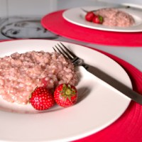 Mamma's Strawberry Risotto (savoury)