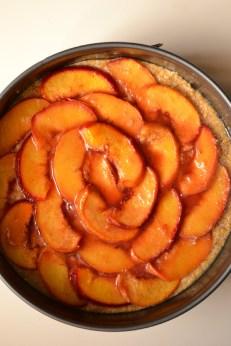 Caramelized Peach Cake (DSC_0997)