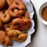 Irish Soda Pretzels (Yeast Free)