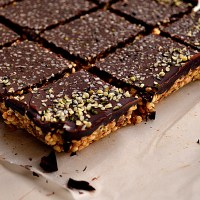 Cereal Bars w/ Hemp, Flax & Chocolate