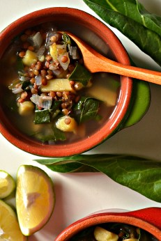 Lebanese Lentil & Chard Soup (DSC_0777)