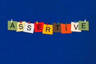 Assertive - confidence and body language skills in business