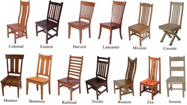 Chairs, Benches And Barstools