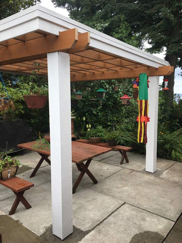 freestanding patio cover harmony