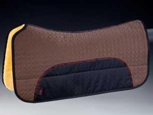 Horsedream fårskinnsprodukter Westernpad-fårskinn-brun Hem