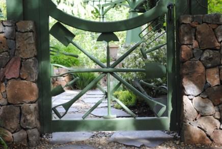 Freeland Tanner-Garden Designer-Napa-Garden Decor-Bespoke Garden Decor-antique garden tools-garden gate