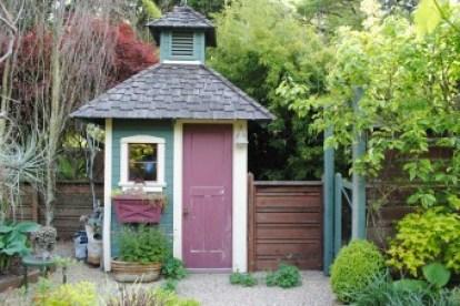 Freeland Tanner-Garden Designer-Napa-Garden Decor-Bespoke Garden Decor-garden shed-potager