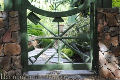 Garden Tool Gate-Freeland Tanner-Garden Designer-Napa-Garden Decor-Bespoke Garden Decor-garden art