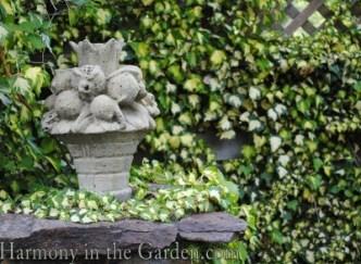 antique garden art