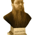 Author photo of Craig Boyack ... head and shoulders on a pedestal