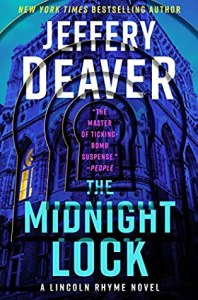 Book Cover of The Midnight Lock by Jeffery Deaver. Published by Harper Collins.