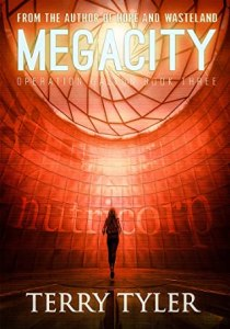 Book cover for Megacity by Terry Tyler