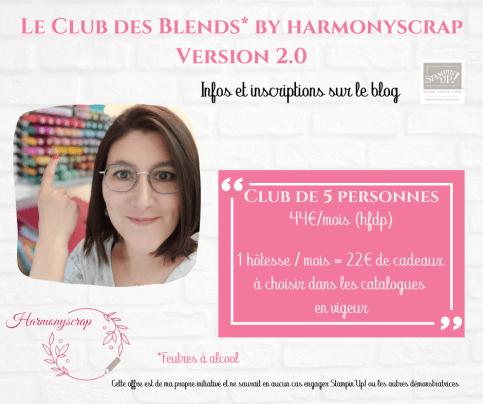 Affiche informations club Blends