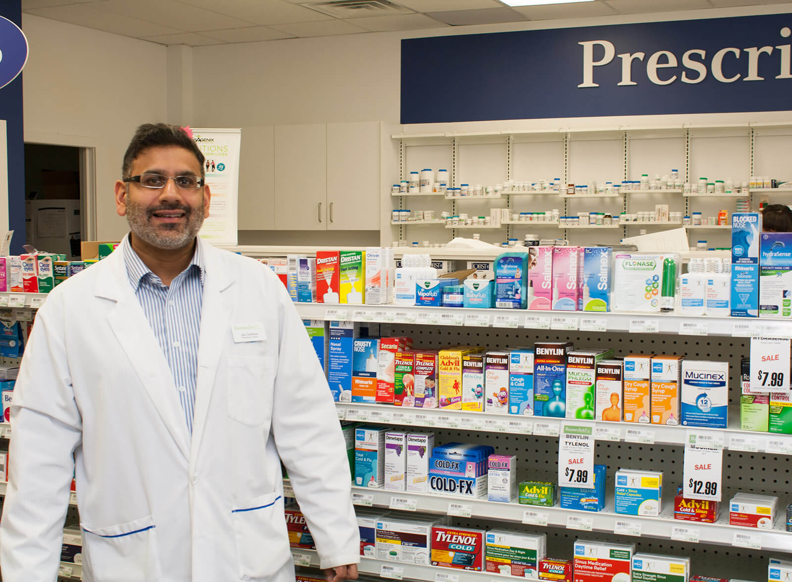 Hi, I am Jas Combow Owner/pharmacist at Harmony Valley Pharmacy