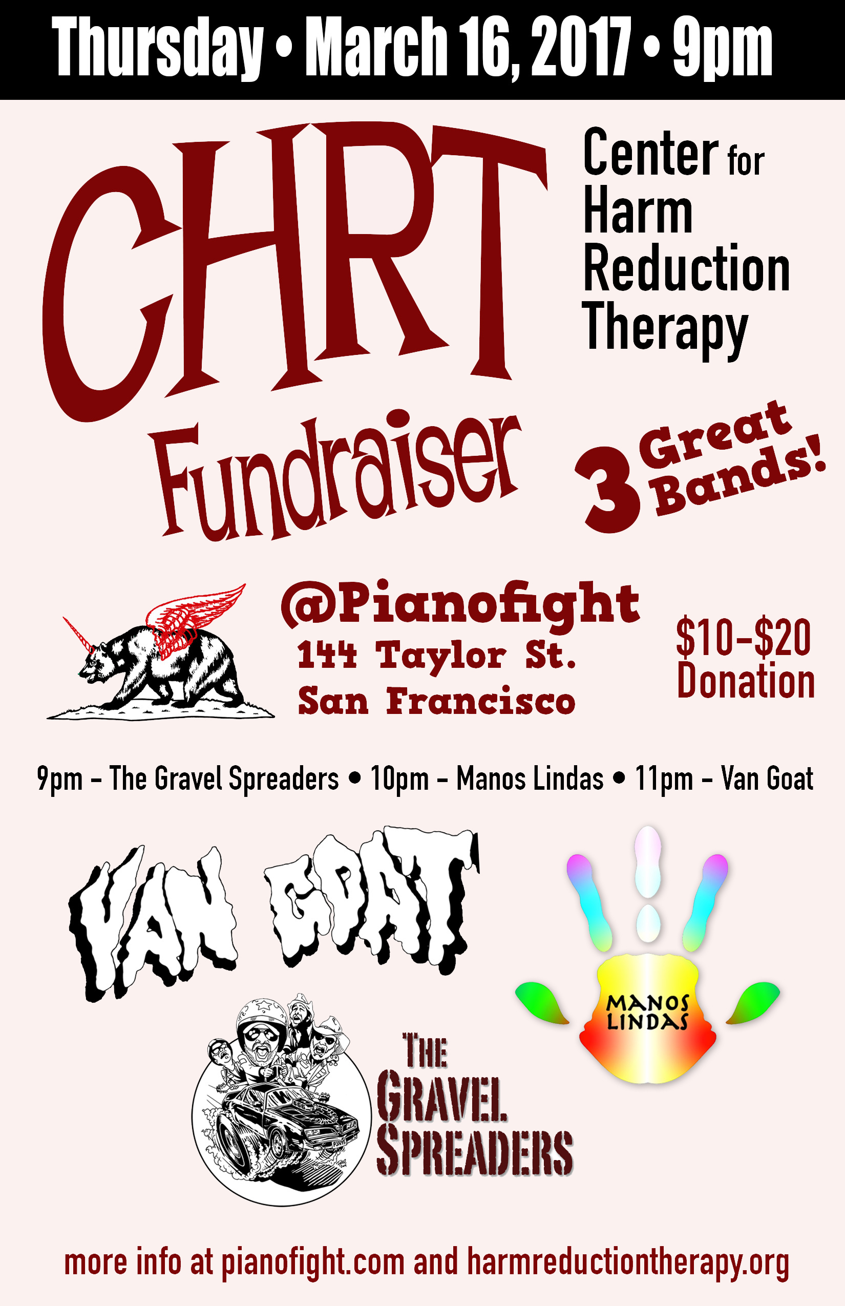 Benefit Concert At Pianofight In San Francisco