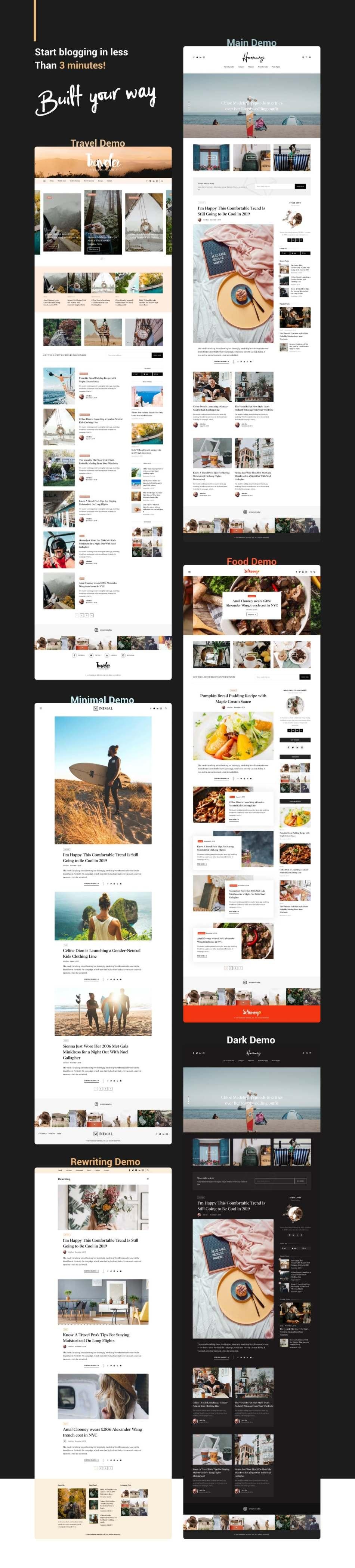 Harmuny - Modern WordPress Blog Theme - 3