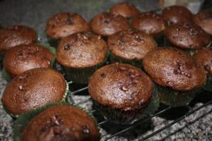 Chocolate Zucchini Chocolate Chip Muffins - a winner in this household.
