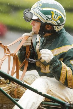 Yannick Gingras and the other drivers battled the elements all day | Dave Landry