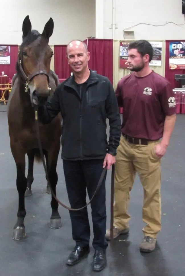 John Floren and Preferred's Corey Slate with $320,000 co-session topper The Ice Dutchess | Dave Briggs