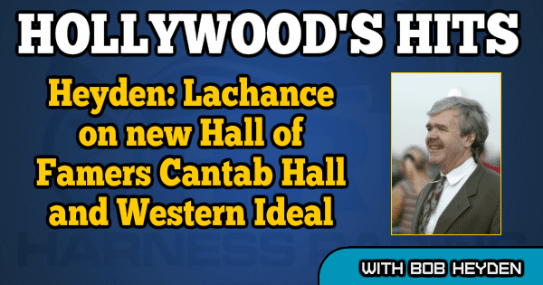 Heyden: Lachance on new Hall of Famers Cantab Hall and Western Ideal