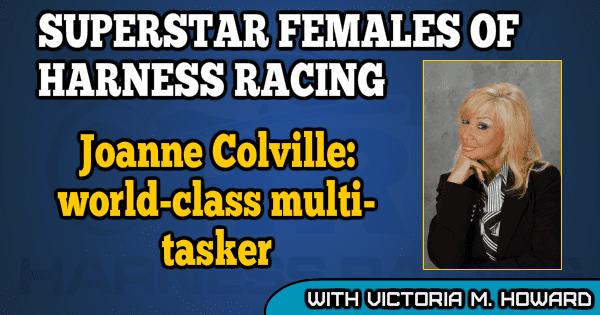 Joanne Colville - world-class multi-tasker
