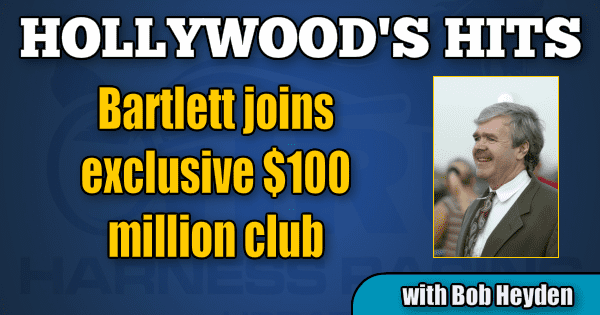 Bartlett joins exclusive $100 million club