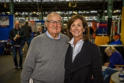 Triscari Video Web and Marketing | Myron Bell (with his wife, Stephanie) was the leading buyer Monday. He purchased two Captaintreacherous colts — one for $400,000, the other for $350,000.