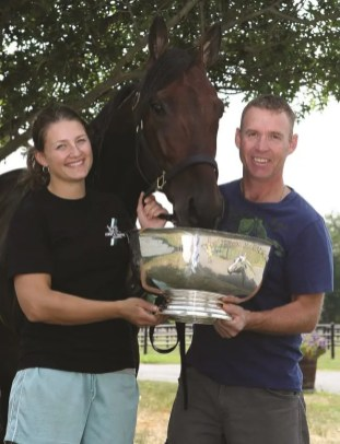 Claus Andersen | In 2010, father and daughter shared a Hambletonian victory with Muscle Massive. Now, Jimmy is turning over the reins of part of his operation to Nancy.