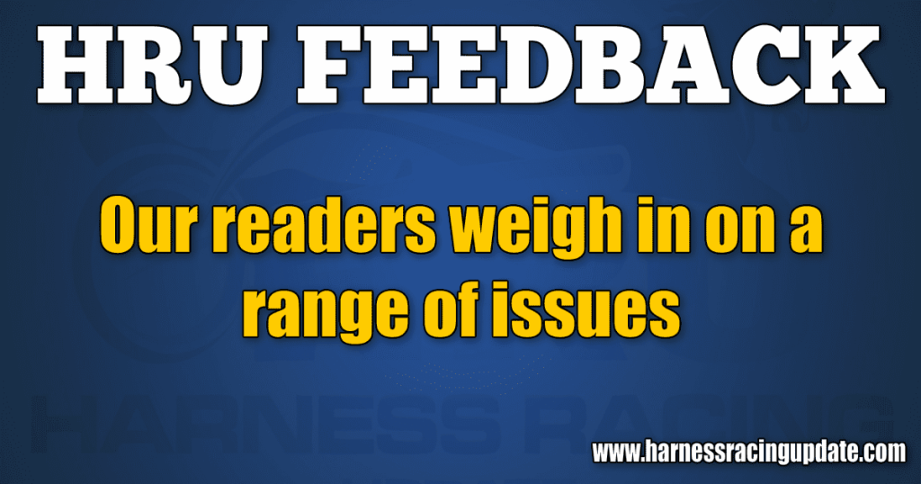 Our readers weigh in on a range of issues