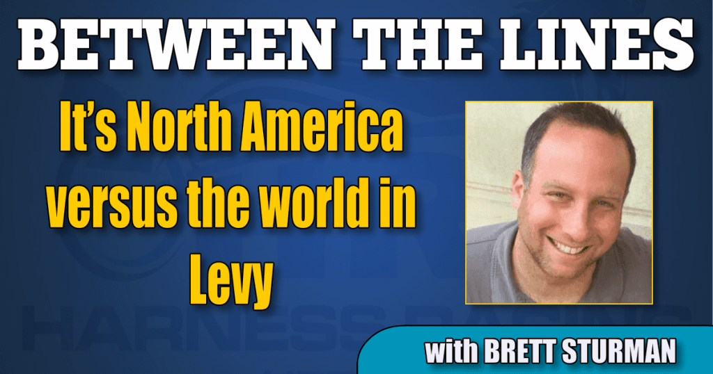 It's North America versus the world in Levy