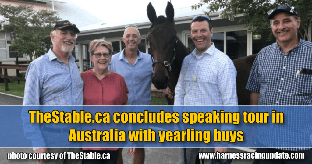 TheStable.ca concludes speaking tour in Australia with yearling buys