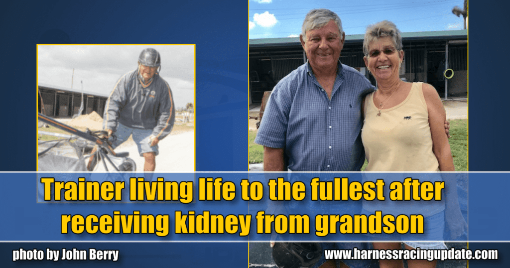 Trainer living life to the fullest after receiving kidney from grandson