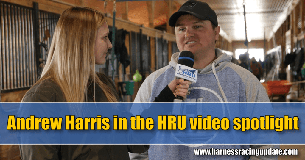 Andrew Harris in video spotlight
