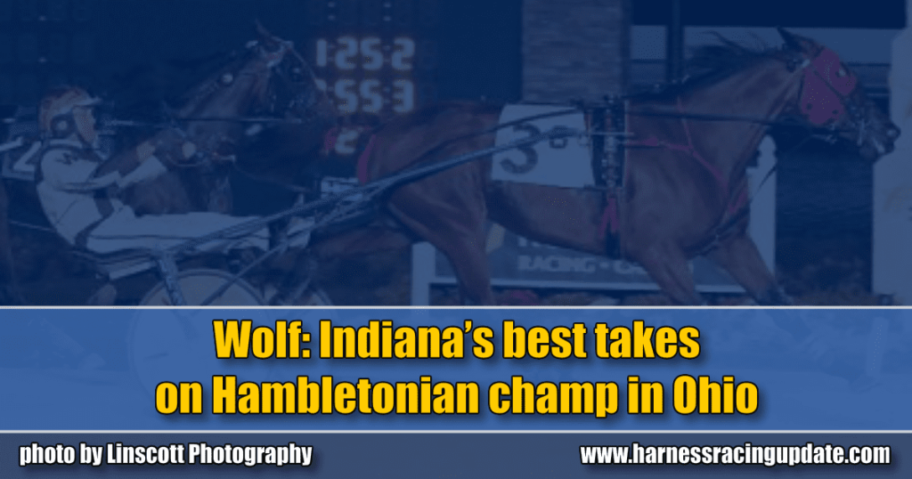 Wolf: Indiana's best takes on Hambletonian champ in Ohio