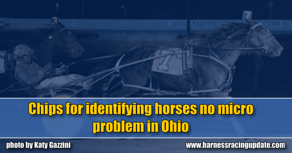 Chips for identifying horses no micro problem in Ohio
