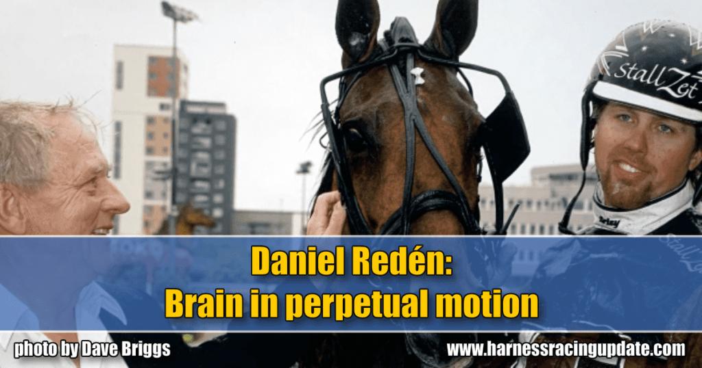 Daniel Redén: Brain in perpetual motion